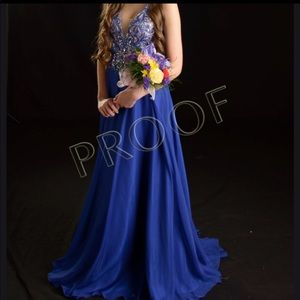 Size 6 prom/pageant gown